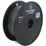 Hatchbox Transparent Black PLA